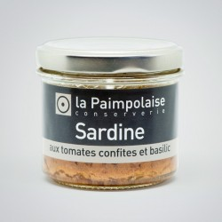 Sardine aux tomates confites et basilic  (80g)