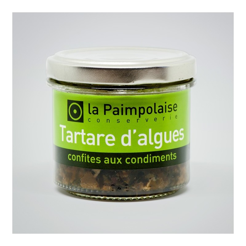 Seaweed tartar candied with condiments (2,8 oz.)
