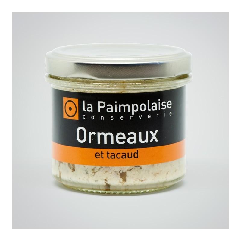 Tartinable Ormeaux et tacaud La Paimpolaise Conserverie