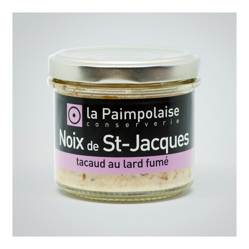 spreadable King scallop La Paimpolaise Conserverie
