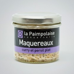 Mackerels, curry and flat-leaf parsley (2,8 oz.)