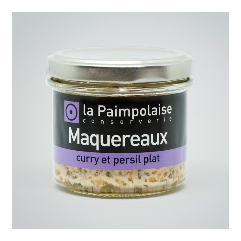Tartinable de Maquereaux, curry et persil plat La Paimpolaise Conserverie