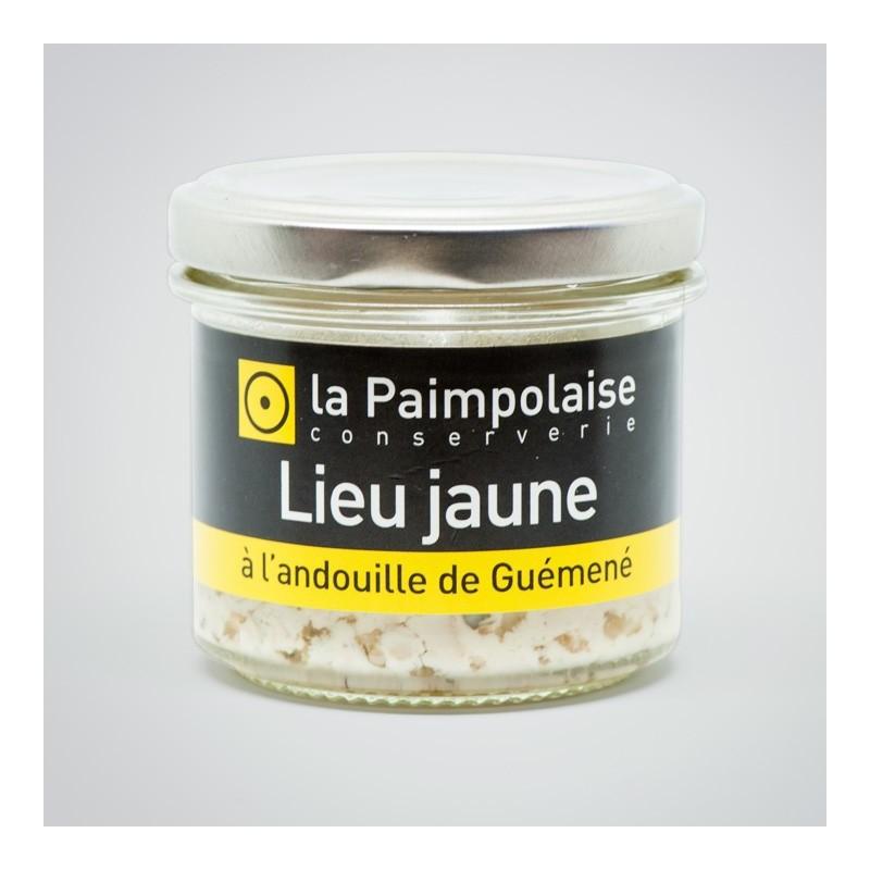 Tartinable de Lieu Jaune à l'andouille Guémené la Paimpolaise conserverie