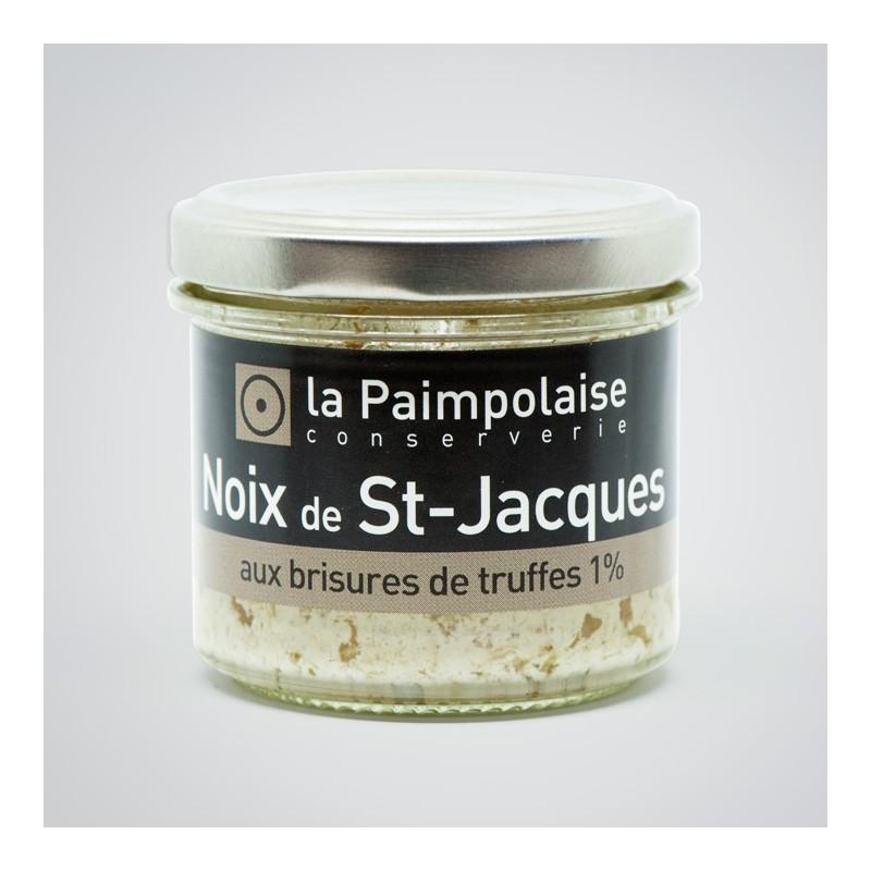St Jacques à la truffe la Paimpolaise conserverie