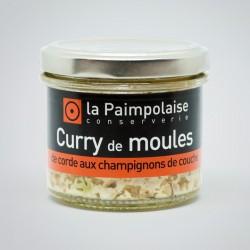 Tartinable de curry de moules de bouchot aux champignons de couche 80g