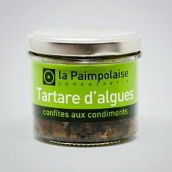 Seaweed tartar candied with condiments 80g / 2,8 oz.