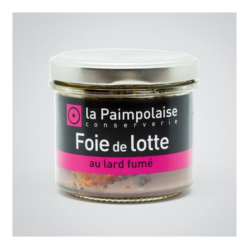 Tartinable de Foie de Lotte au fard fumé La Paimpolaise Conserverie